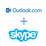 skype for Web + Outlook.com